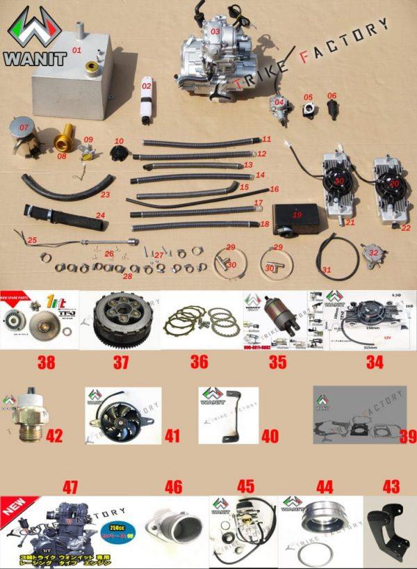 wanit-parts-list-Engine-Gasolin-Water