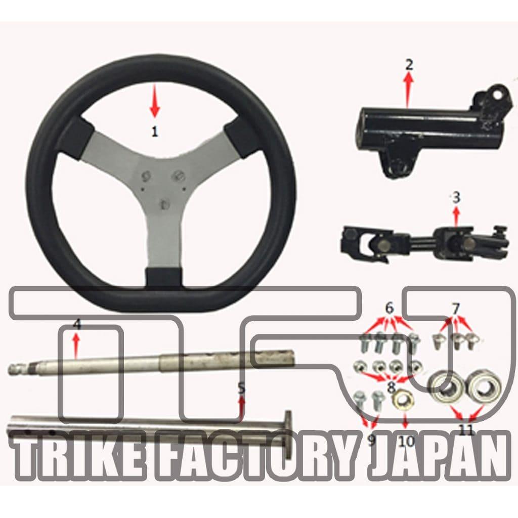 Handling-EV-Mini-Jeep Spare Parts
