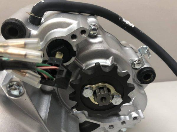124ccダックス、 モンキー、ハイパワーエンジン 汎用性