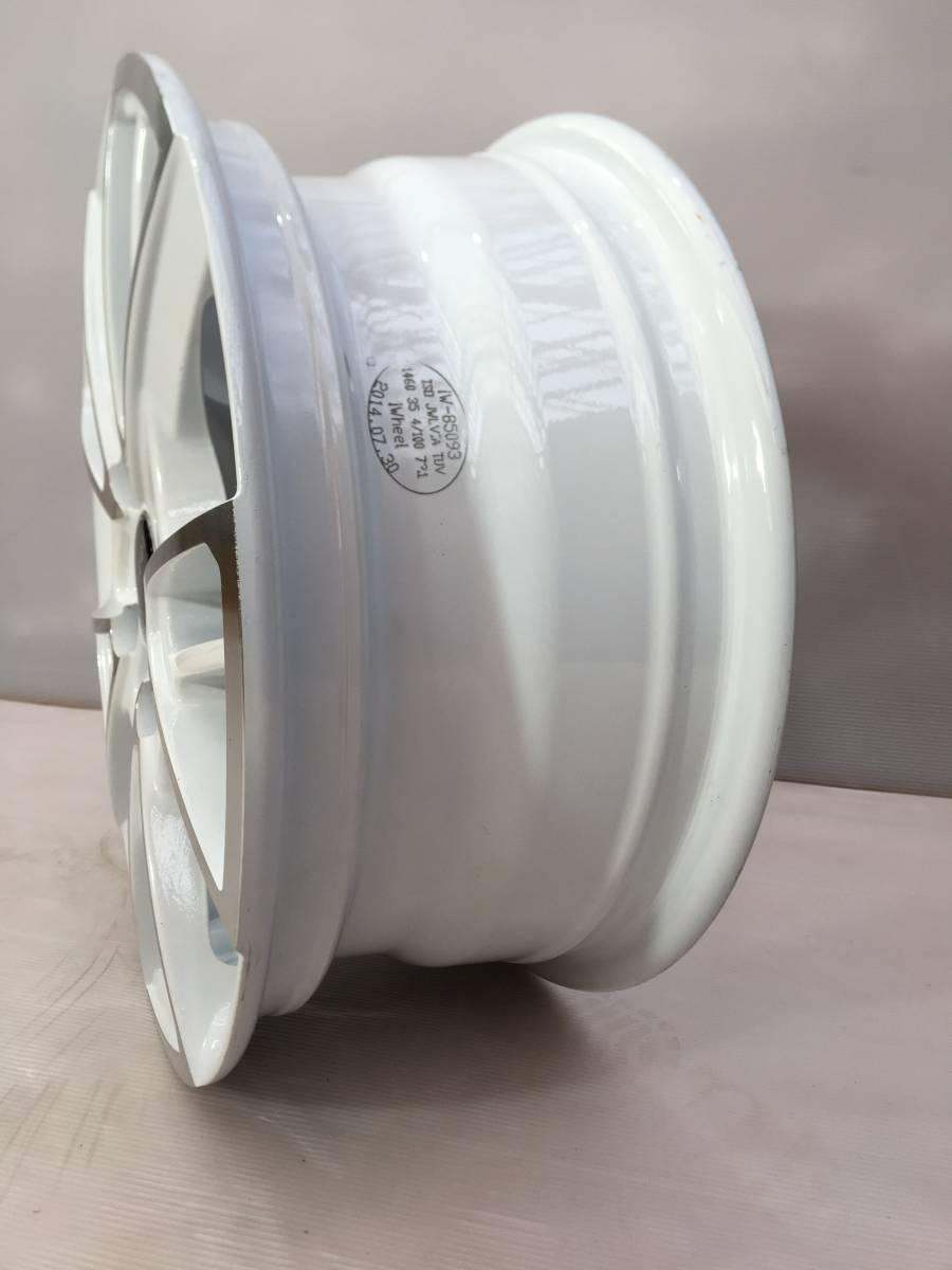 1it(ウォンイット)フロントホイール1本 カスタムホイール 3輪トライク ホワイトカラー