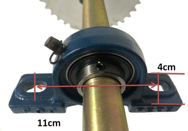 ミニジープ リアシャフトベアリングとハウジング リアアクセルシャフト アセンブリー(組立済)完成品