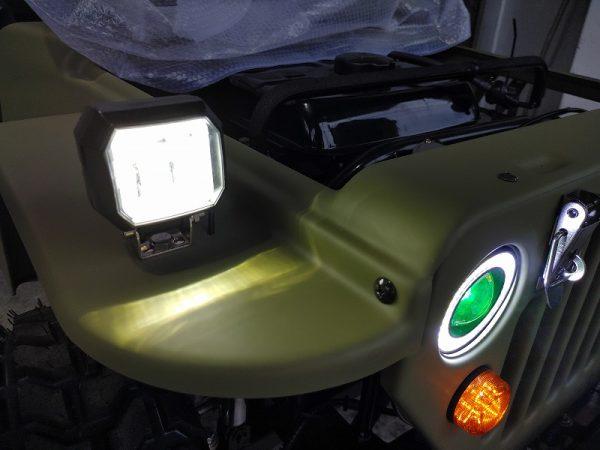 本物ミニジープ2020年モデルトライクファクトリージャパン製エンジンタイプ