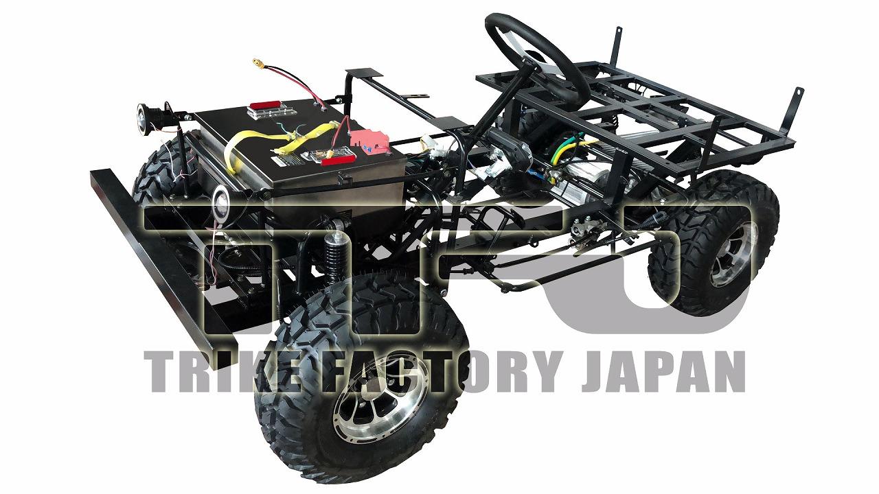 電動EVミニジープ本物オリジナルトライクファクトリージャパン2020年モデル2
